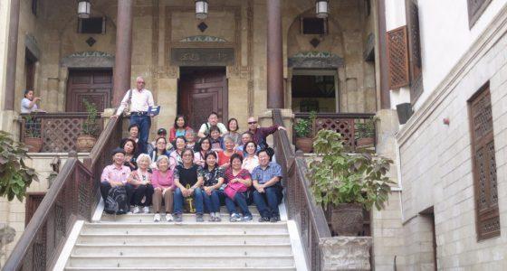 開羅科普替教會區中的「懸空教會」前